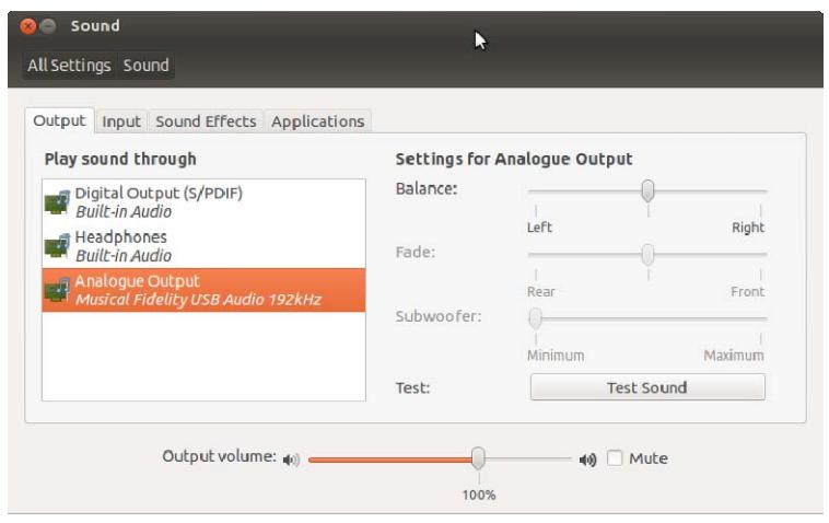 Configurer un DAC USB sous Linux