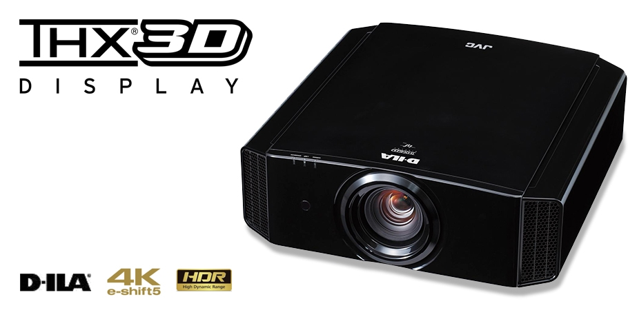 Vidéoprojecteur HDR Ultra HD 4K à technologie e-shift5 compatible 3D - JVC DLA-X7900
