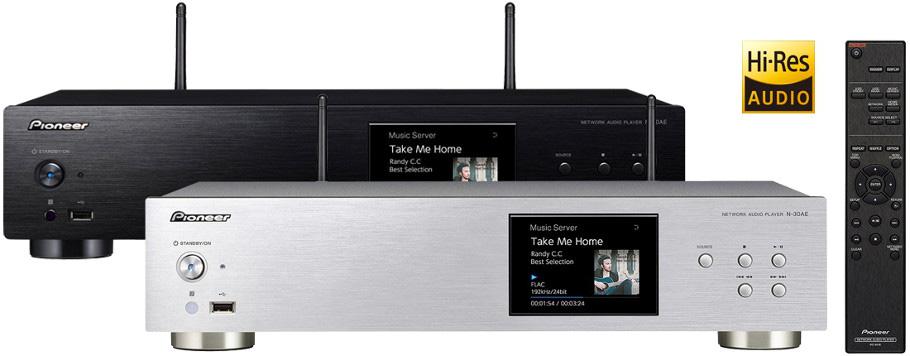 Une plateforme réseau est une source audiophiles pour diffuser votre musique dématérialisée (lecteur réseau Pioneer N-30AE)