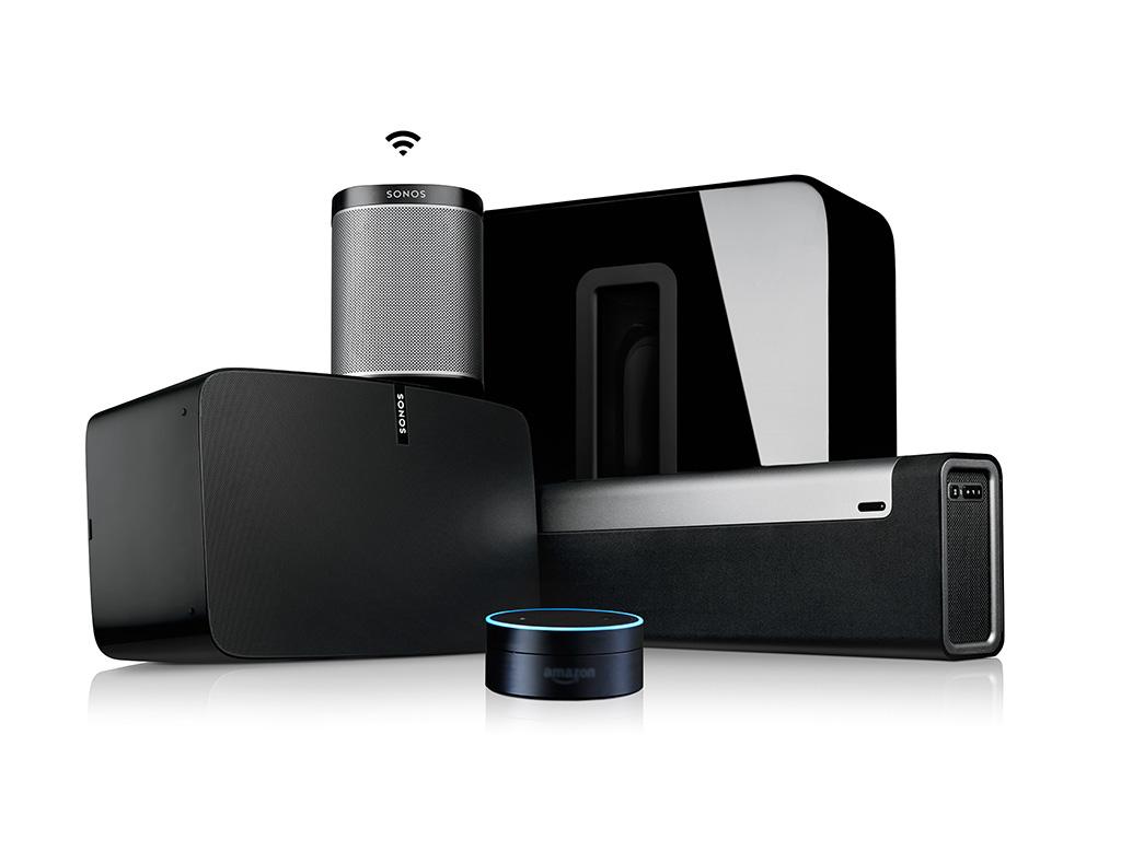 Enceintes sans fil multiroom Sonos