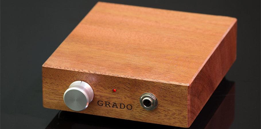 Un ampli casque traditionnel de marque Grado