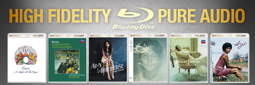 Blu-ray Pure Audio : mieux que le CD !
