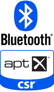 Enceintes hifi Bluetooth APT-X