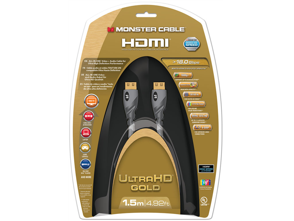 Monster HDMI Gold Advanced