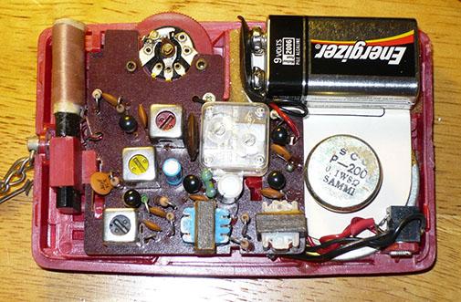 Circuit imprimé transistor