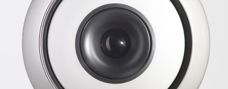Le haut-parleur d'une enceinte Cabasse : il a déjà été pré-rodé en chambre spéciale à température élevée