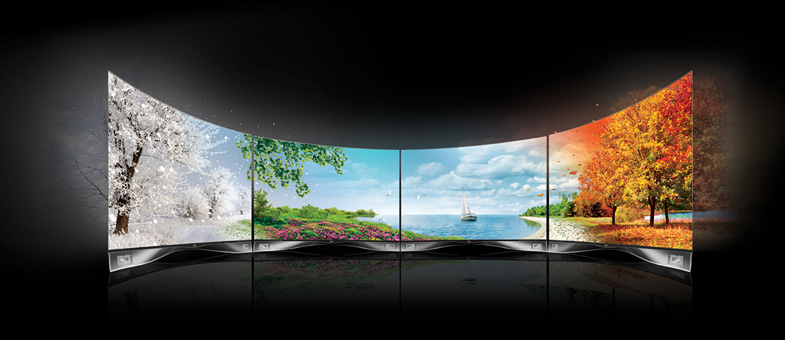 Écrans Tv incurvés LG