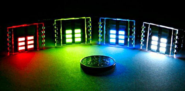 OLED : Organic Light-Emitting Diode ou Diode Electro-Luminescente Organique