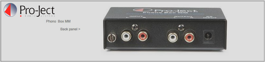 Project Phono Box DS