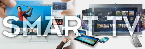 Les Smart TV permettent d'accéder au portail web des marques, et de profiter d'applications, de services de musique, ou de VOD