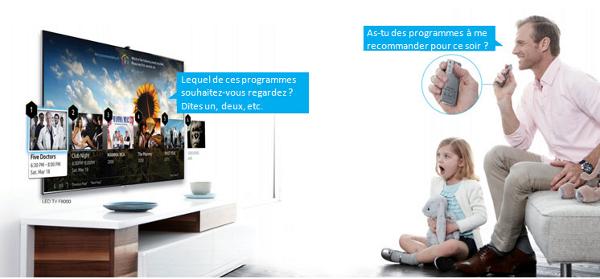 Un Smart TV offre des fonctionnalités ultra modernes, dont le pilotage à la voix