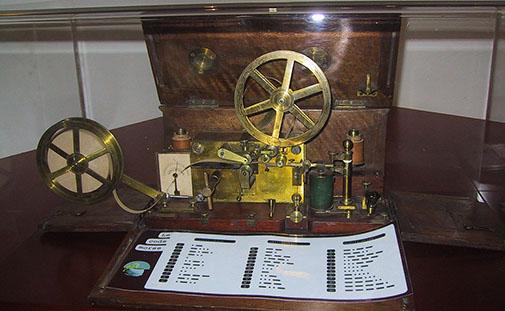 Télégraphe de Morse en 1837