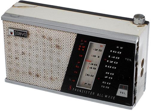 Transistor radio Sanyo