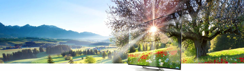 Plats ou incurvés, les TV Ultra HD sont de vraies beautés !